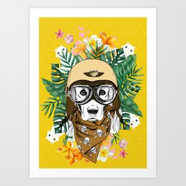 Born to be Art Print