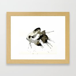 Lady Fish Framed Art Print