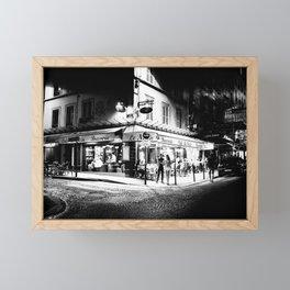 Café le Nazir (Montmartre; Paris) Framed Mini Art Print