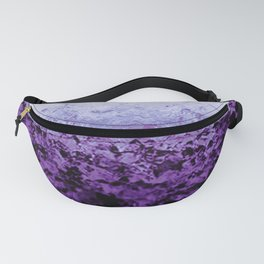 Purple Crystal Ombre Fanny Pack