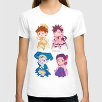 haikyuu T-shirts featuring CCS captains by JohannaTheMad