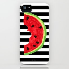 Cool Watermelon iPhone Case