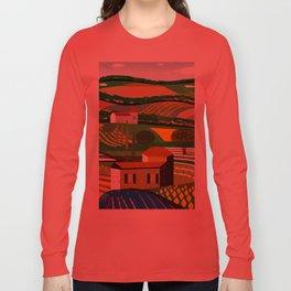 Green Fields Long Sleeve T-shirt