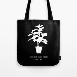 Green Herb Tote Bag