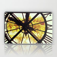 Clock in Musee D'Orsay, Paris Laptop & iPad Skin