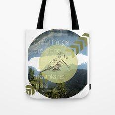 Great things Tote Bag