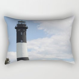 Walkway To Fire Island Lighthouse Rectangular Pillow