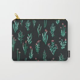 green garden at nigth 2 Carry-All Pouch