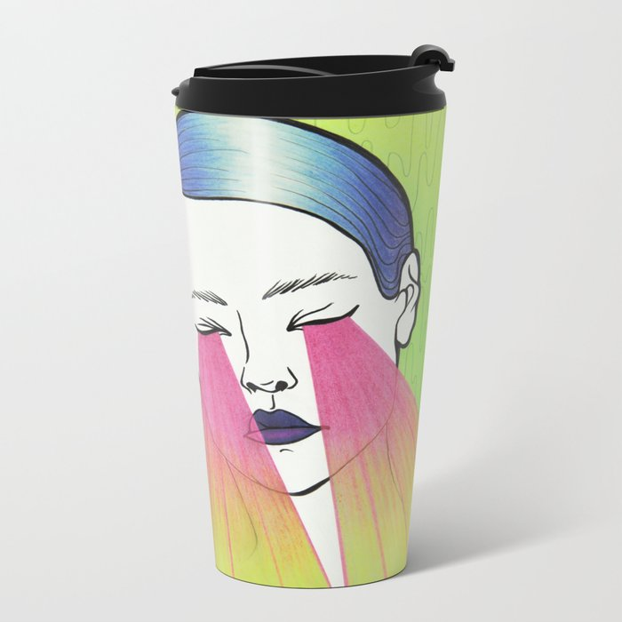 Twin beams Metal Travel Mug