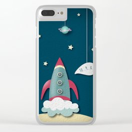 Rocket Clear iPhone Case