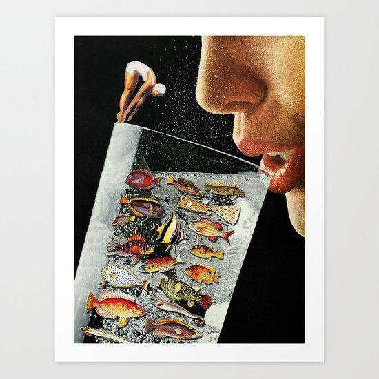 Shared Ecosystem Art Print