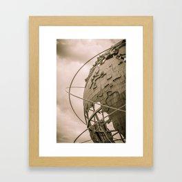 Vision of Earth Framed Art Print