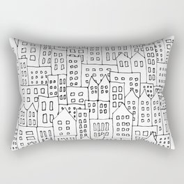 Coit City Pattern 1 Rectangular Pillow