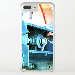 Old Steam Clear iPhone Case