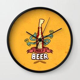 HolyBeer! Wall Clock