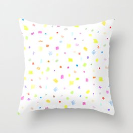 summer dress Throw Pillow