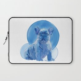Monochromatic French Bulldog Laptop Sleeve