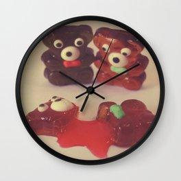 Gummy Crime Wall Clock