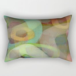 Kiwi Smoothie Rectangular Pillow