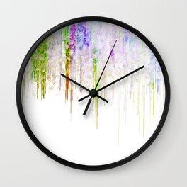 Acid Rain Wall Clock