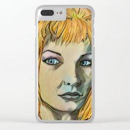 Leeloo Noir Clear iPhone Case