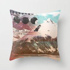 Mountainous Range Throw Pillow