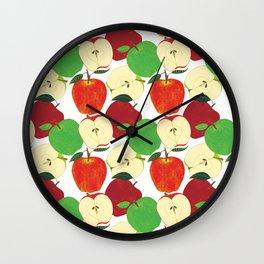 Apple Harvest Wall Clock