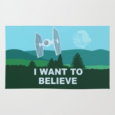 I WANT TO BELIEVE - Star Wars Rug
