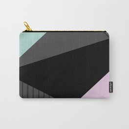 Memphis mint  pink  grey Carry-All Pouch