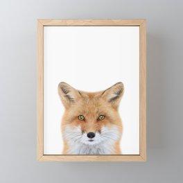 Fox Art Framed Mini Art Print