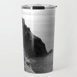Seascape with monolith Travel Mug