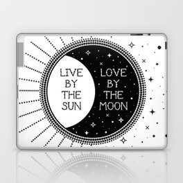 Live by the Sun Love by the Moon Laptop & iPad Skin