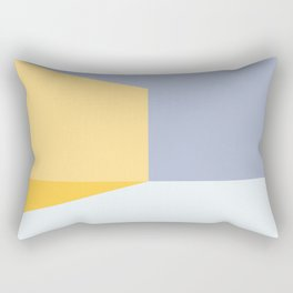 Mélange No. 3 Modern Geometric Rectangular Pillow