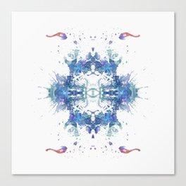 Inkdala LXVIII Canvas Print
