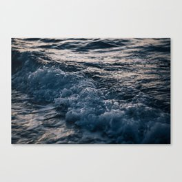 Liquid Sunset Canvas Print