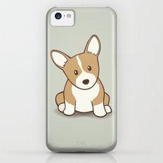 Welsh Corgi Puppy Illustration iPhone 5c Slim Case