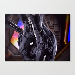 Hold on tight for warp speed Canvas Print