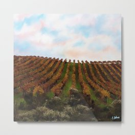 Wine Country Metal Print