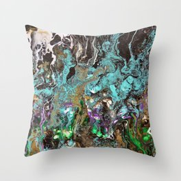 Welcome to the garden of Eden Throw Pillow