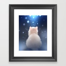 Winter is... Framed Art Print
