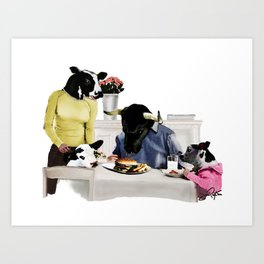 You Are Who You Eat! #2 Art Print
