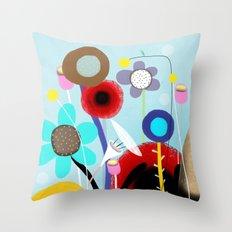 Sweet Karma Love reflects love Throw Pillow