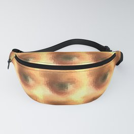 Creepy cartoon eyes pattern Fanny Pack