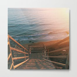 El Matador State Beach Metal Print