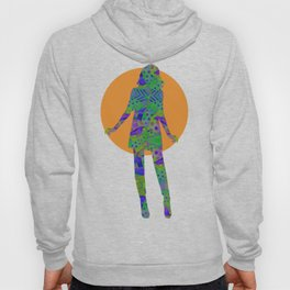"""""""Be yourself (Pop Fantasy Colorful Woman)"""" Hoody"""