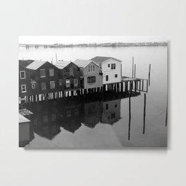 Stilt House Metal Print