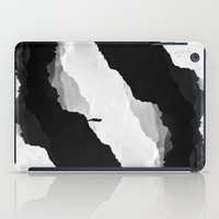 mountains iPad Cases featuring White Isolation by Stoian Hitrov - Sto