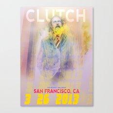 Clutch San Francisco Poster (Full Color) Canvas Print