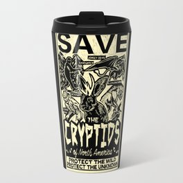 SAVE THE CRYPTIDS Travel Mug
