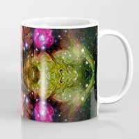 interstellar Mugs featuring Interstellar by Mark Kriegh